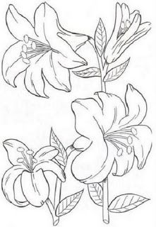 coloring pages to print and color: flower pictures - crafts ideas - crafts for kids Coloring Pages To Print, Coloring Book Pages, Flower Images, Flower Pictures, Flower Outline, Crafts With Pictures, Digi Stamps, Copics, Fabric Painting