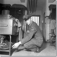 Elvis Army photo Germany 1958