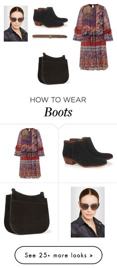 """""""Sin título #4523"""" by ceciliaamuedo on Polyvore featuring Etro, Sam Edelman, Gucci, The Row and Fendi"""