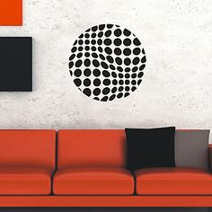 Abstract Polka Dots Wall Stickers - USD $ 29.99