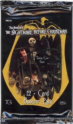 Neca Trading Card Game - The Nightmare Before Christmas - PACK (12 cards) NECA http://www.amazon.com/dp/B000LY4NQW/ref=cm_sw_r_pi_dp_.-URvb06H22T0