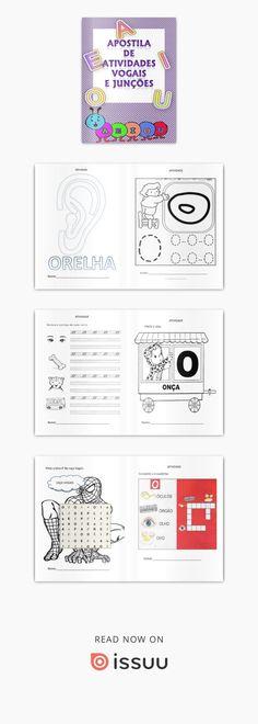 Apostila de atividades vogais e junções pdf