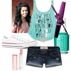 """Six Flags (Exact Outfit)"" by sara-elizabeth-berg on Polyvore"