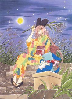 CLAMP, Kobato, Kobato. Illustration&Memories, Ioryogi, Kobato Hanato Cardcaptor Sakura, I Love Anime, Shoujo, Image Boards, Manga Anime, Anime Art, Xxxholic, Manga Illustration, Magical Girl