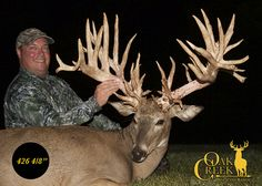 "Pending SCI #6 Non-Typical Midwestern Whitetail Deer.  426 4/8""!!!"
