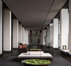 Gallery of Club InterContinental of InterContinental Shenzhen Dameisha Resort / CCD - 10 Lounge Design, Lift Design, Lobby Interior, Interior Architecture, Interior Design, Lobby Lounge, Hotel Lobby, Lobby Bar, Lobby Furniture