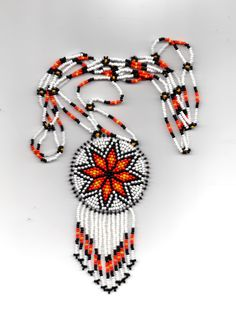 american native bead work. $67.00, via Etsy.