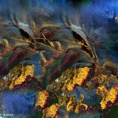 Drawing, Digital in Nature, Scenery, Waterscape, lake, river, outils informatiques, art digital - Image #525928