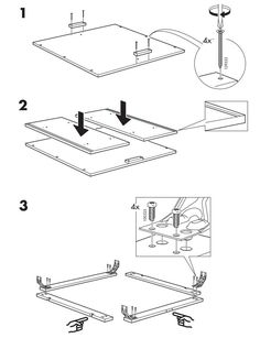 Ikea instruction details instructions manual pinterest for Ikea assembly instructions help