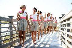Heres the full post:  Style Files- Bridesmaid Skirts » Alexan Events | Denver Wedding Planners, Colorado Wedding and Event Planning