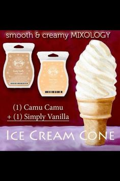 Those that know me well know I am a Ice- Creamaholic and now I can have it in my Scentsy warmer ! cd899ed176ff9ca1632e6eba5bf76ecf.jpg (480×720)