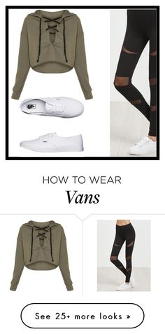 """""""Untitled #148"""" by nikki5673 on Polyvore featuring Vans"""