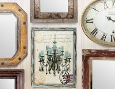 I pinned this from the Wall-to-Wall - Create an Inspired Space with Art, Mirrors, Clocks & More event at Joss and Main!