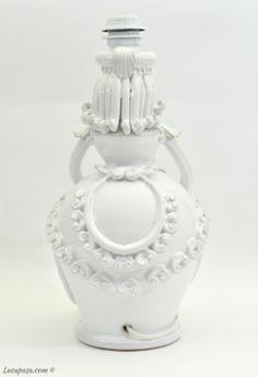 PUPO DI CERAMICA Jar, Sculpture, Home Decor, Light Bulb Vase, Pink, Decoration Home, Room Decor, Jars, Sculpting
