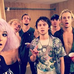 "R5 (@officialr5) on Instagram: ""after show selfie THANKS ARKANSAS!  #NewAddictionsTour"""