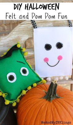 DIY Halloween Felt Creations