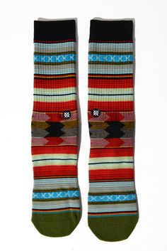 Stance Men's Guadalupe Sock in BLUE