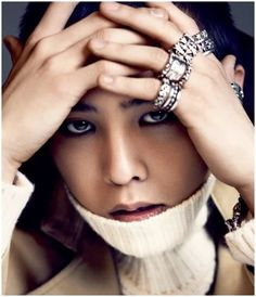 G-Dragon wearing Chrome Hearts jewelry