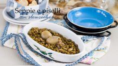 Seppie e piselli   cuttlefish with peas   cottura lenta   slow-cooker   La casa del coniglio bianco