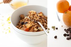 Citrus Summer Lentil Granola    Vegan (option), Gluten-free, Dairy-free, Refined sugar-free,