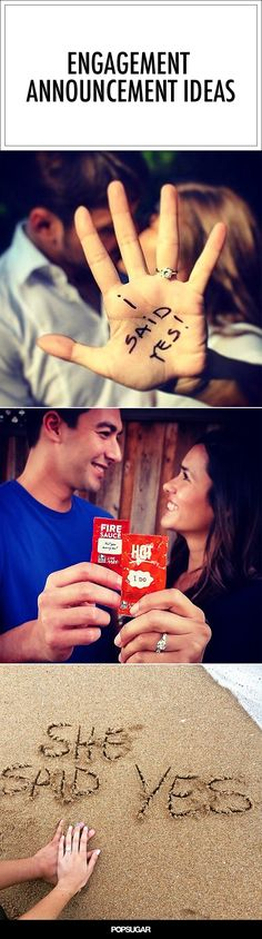 30 Cute Engagement Announcement Photos From Real Couples