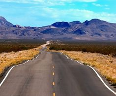 A perfect Harley-Davidson bike route.    A scenic ride on a motorcycle. A rippled ride to nowhere.