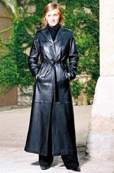 Long Leather Coat, Leather Trench Coat, Leather Gloves, Leather Jacket, Black Leather, Penny Lane, Trent Coat, Maxi Coat, Fall Fashion Outfits