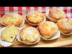 MUFFIN MORBIDISSIMI ALLO YOGURT SENZA BURRO ALLA STRACCIATELLA - YouTube Yogurt Muffins, Butter, Biscotti, Sweets, Breakfast, Youtube, Cakes, Pastries, Fairy Cakes