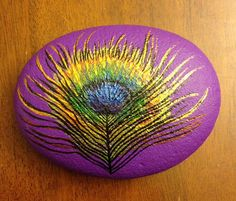 Peacock in Purple