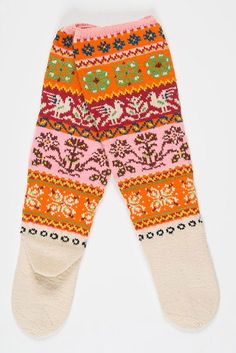 Mittens, Stitch Patterns, Harem Pants, Gloves, Cross Stitch, Slippers, Socks, Knitting, Muji