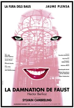 THE DAMNATION OF FAUST, 1999 1999 - Opera and theater - Works and projects | Jaume Plensa