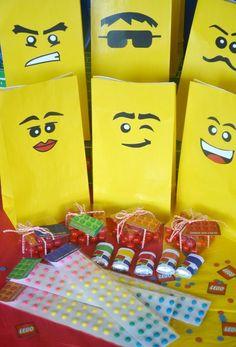 Lego birthday party decor