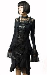 Punk Rave Nocturna Gothic Top