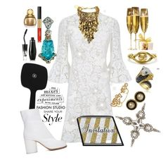 """INVITATION ONLY🍸"" by seanahr ❤ liked on Polyvore featuring Valentino, Forest of Chintz, MARBELLA, Christian Dior, Chanel, LE VIAN, Lancôme, Kate Spade, Maison Margiela and Sweet Romance"