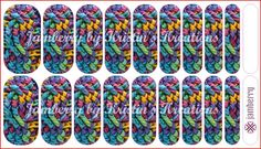Crochet CUSTOM Jamberry Nail Wraps **Click link to place special order**