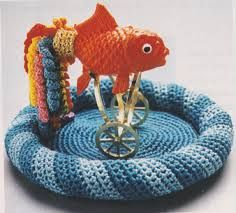 Image result for crochet goldfish