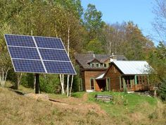 "We hear a lot of chatter these days about living off the grid. There are countries and cultures that have always lived ""off grid"". Solar Power Kits, Off Grid Solar, Solar Roof, Best Solar Panels, Diy Camping, Off The Grid, Solar Energy, Renewable Energy, Homesteading"