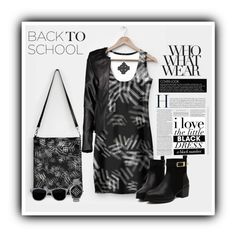 """""""Back to School"""" by elena-indolfi ❤ liked on Polyvore featuring Boohoo and Who What Wear"""