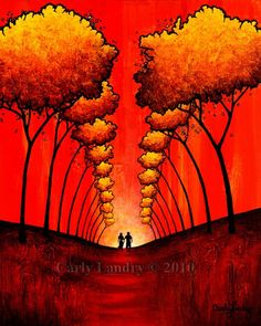 The Autumn Path by Carly Landry