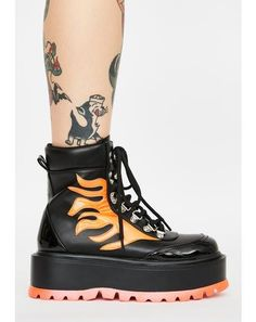 Club Exx Black Glitter Traitor Boots With Holographic Hearts | Dolls Kill Black Platform Boots, Platform Stilettos, Platform Sneakers, Leather Sneakers, Shoes Sneakers, Wedge Boots, Heeled Boots, Shoe Boots, Faux Fur Boots