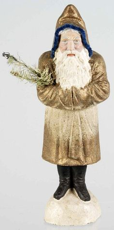 The Origins of the Man in the Red Suit. With Belsnickle, Pelsnickel, Krampus & Co. Primitive Christmas Decorating, Primitive Santa, Prim Christmas, Antique Christmas, Christmas Past, Christmas Fashion, Father Christmas, All Things Christmas, Christmas Decorations