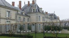 Chateau de Menars (Palace Pompadour) on the Lorie River - France