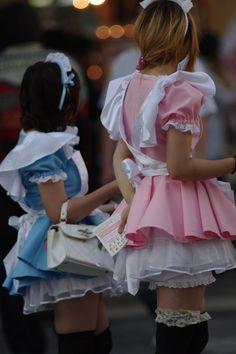 ★○•kawaii meido. . .maid. . .costume. . .cosplay. . .petticoat. . .tutu. . .apron. . .lace. . .stockings. . .headdress. . .girls. . .cute. . .kawaii•○★