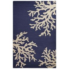 Shop for Flatweave Coastal Pattern Blue/Ivory Wool Area Rug (8' x 10'). Get free shipping at Overstock.com - Your Online Home Decor Outlet Store! Get 5% in rewards with Club O! - 18353974
