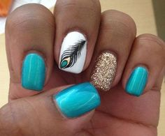 21 Cute And Trendy Nail Designs for Summer | Inspired Snaps by vanessa