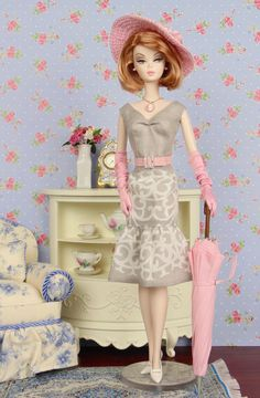 Springtime in Paris for Silkstone Barbie Poppy by HankieChic
