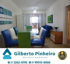 Apartamento à venda no Centro com 2 quartos  +55 (27) 3262-0792 +55 (27) 99515-0060  http://www.gilbertopinheiroimoveis.com.br/imovel/2961/apartamento-guarapari--centro  Apartamento à venda no Centro de Guarapari com 2 quartos sendo uma suíte, sala, cozinha, dependência de empregada, banheiro de serviço, banheiro social, varanda, área de serviço, frente para o mar, 2 elevadores, vaga de garagem, salão de festas. Otima localização.