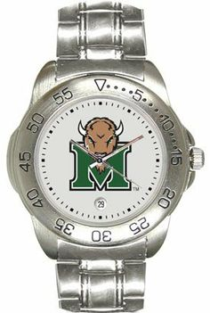 Marshall University Thundering Herd Mens Sports Steel Watch by SunTime. $49.95
