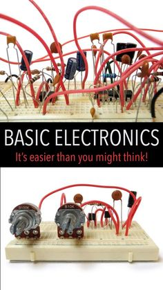 By the end of this tutorial, anyone with an interest to learn basic electronics should be able to read a schematic and build a circuit using standard electronic components.
