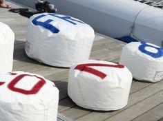 Des voiles de bateaux au service de la déco
